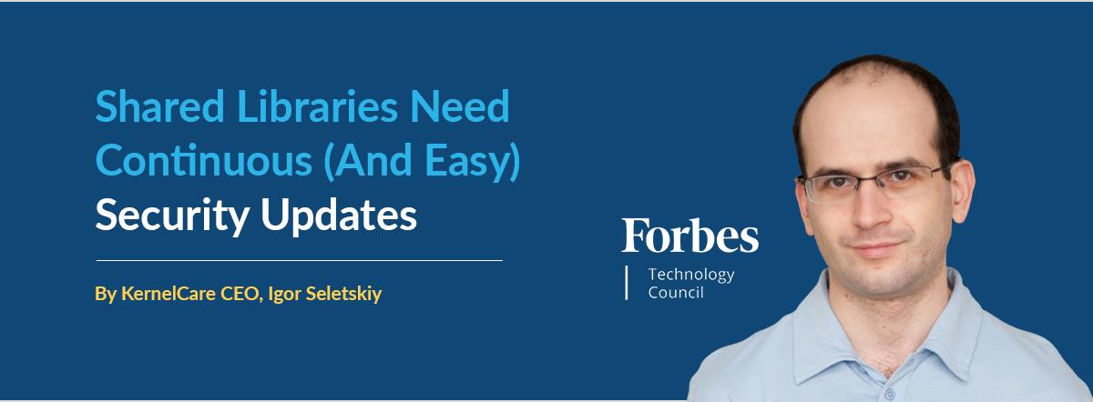 KernelCare CEO Igor Seletskiy for Forbes