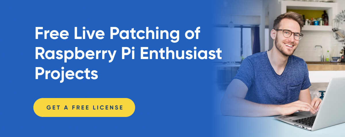 Free Live Patching of Raspberry Pi