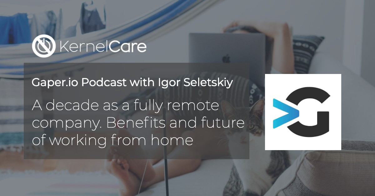 A decade as a fully remote company. Benefits and future of working from home by Igor Seletskiy.
