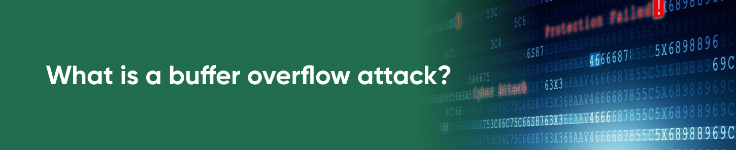 What is a buffer overflow attack?