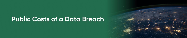 Public Costs of a Data Breach