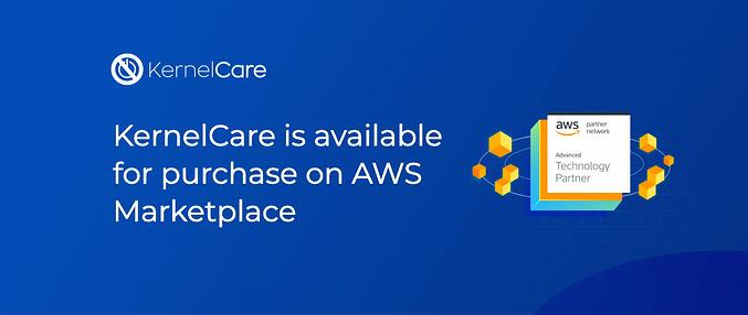 KernelCare is available for purchase on AWS Marketplace 710x300