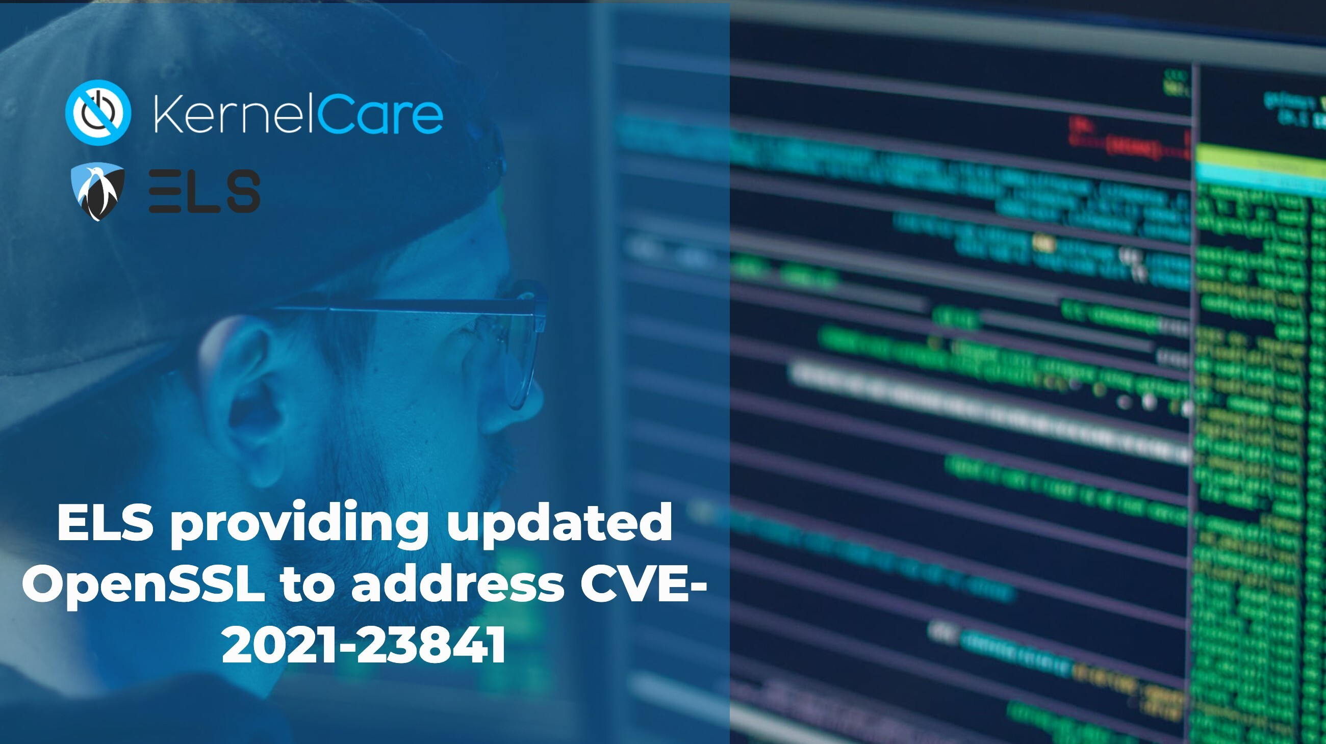 ELS providing updated OpenSSL to address CVE-2021-23841