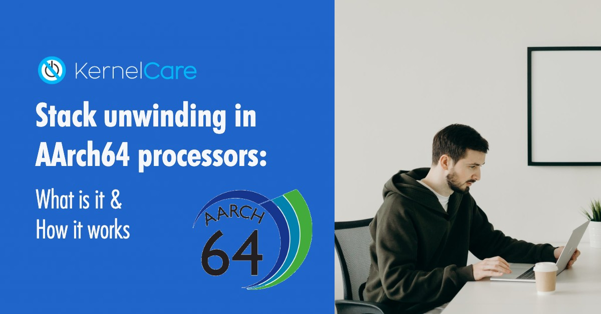 Stack unwinding in AArch64 processors_