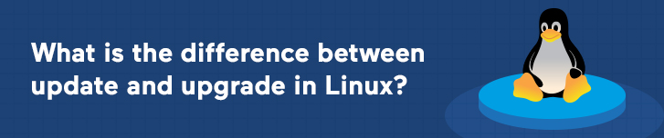 What is the difference between update and upgrade in Linux?