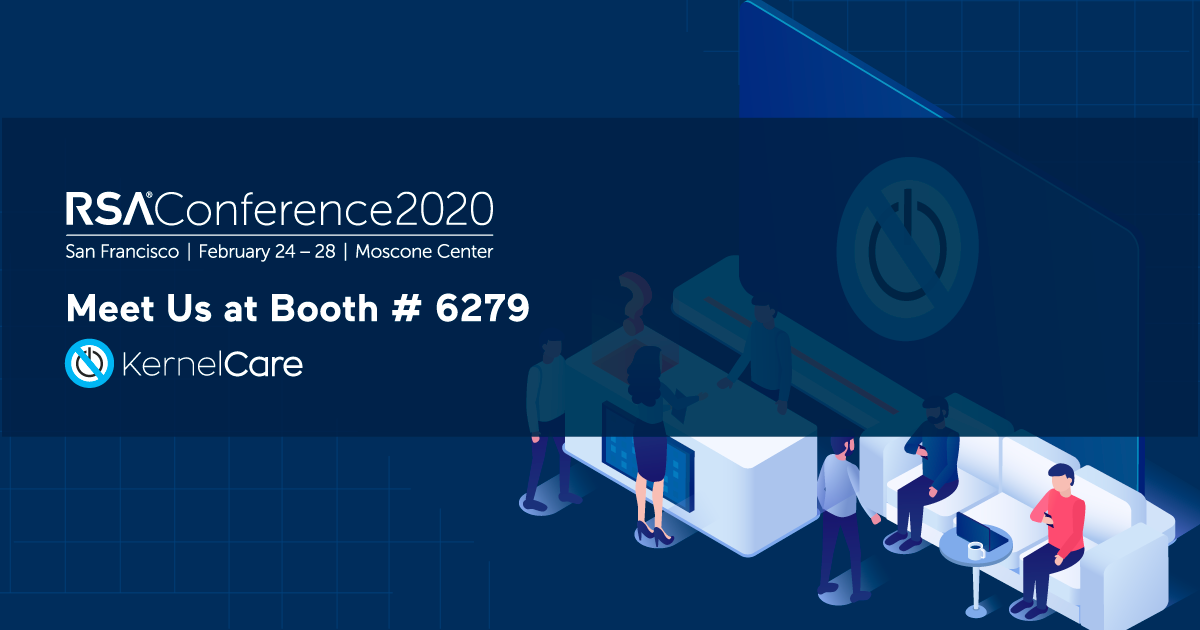 KernelCare at RSA Conference 2020